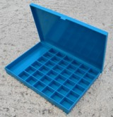 Unmounted lead markers, Mounted lead markers, Marker boxes