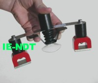 Cassette Holders, Bridge type cassette clamping magnets, Magnetic spring loaded cassette holder, Bungy bands